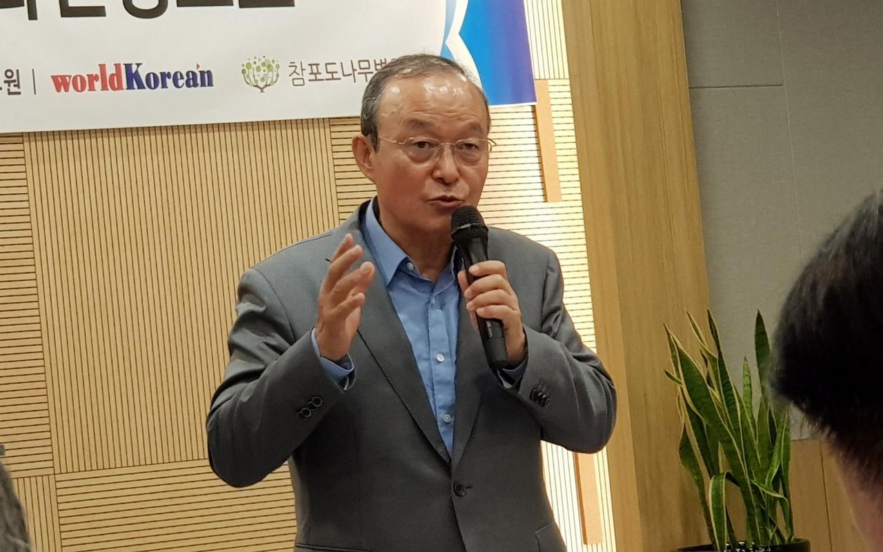 송민순 전 외교부 장관